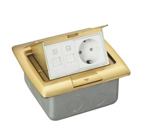 CE Durable Floor Box Power Socket-Outlet pictures & photos