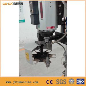 PVC Window Door Frame Milling Machine of High Speed Double Worktable pictures & photos
