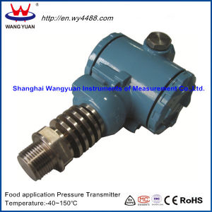 Non-Cavity Sanitary Pressure Transmitter (designed for food application) pictures & photos