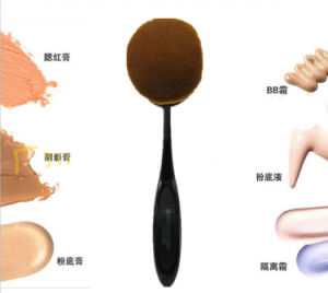 Famous Brand Big Size Luxury Oval Toothbrush Makeup Brush Hyq-Tb01 pictures & photos