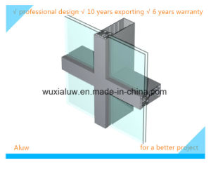 Frame Supported Glass Curtain Wall pictures & photos