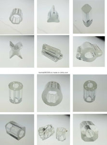 Profile Glass Tube for Lamp pictures & photos