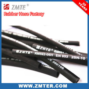 Zmte Oil Resistant Hydraulic Rubber Hose 2sn pictures & photos