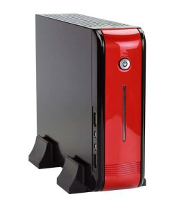 Mini PC Casing for Itx Motherboard (E-2015 red)