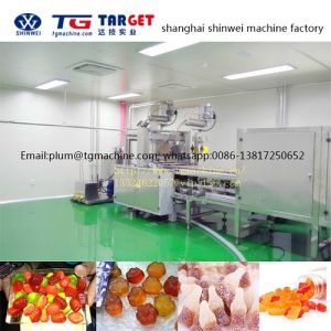 Gdq300 Automatic Pectin & Gelatin Jelly Gummy Candy Machine Line pictures & photos