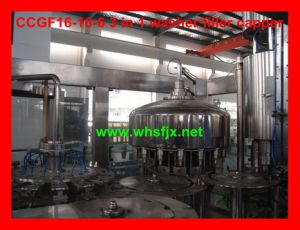 3 in 1 Monoblock Bottled Water Filling Machine (CCGF16-16-6)
