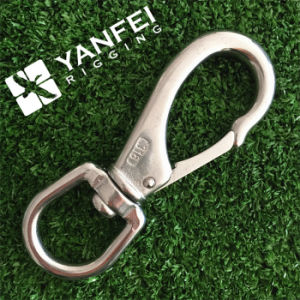 Stainless Steel AISI304/316 Snap Hook with Swivel Eye pictures & photos