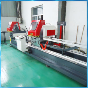 Automatic Aluminum Cutter with Double Mitre Blades