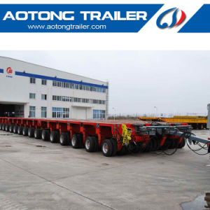 Heavy Duty 100-1000 Tons Modules Low Workbed Modular Semi Trailer pictures & photos
