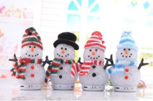 Hot Selling Snowman Wireless Bluetooth Speaker (SMS-BT32)