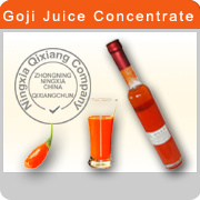 Fresh Goji Berry Juice