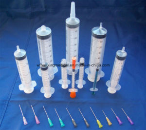 Wholesale Medical Chinese Single Use Syringes with Needle pictures & photos