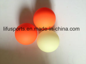 Customized New Design Multi Color Logo Printing Plastic Low Bounce Hockey Ball pictures & photos