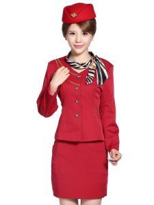 New Style Uniform for Ladies (UFM130043) pictures & photos