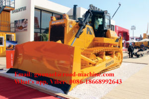 Shantui Brand SD42 Bulldozer 420HP with Rops and Fops, Straight Tilt Blade, Semi-U Blade, Angle Blade, Single/Three Shank Ripper