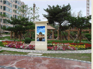 55 Inch Full Highlight LCD Panel Advertising Display Use Outdoor