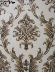 New Design Damask Wallpaper (JG1106) pictures & photos