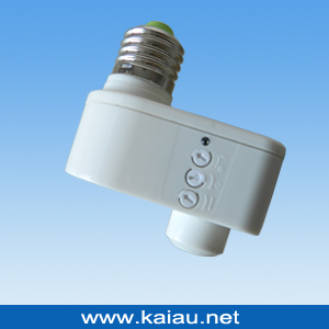 E27 Microwave Sensor Lamp Holder pictures & photos