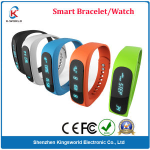 Waterproof Smart Bracelet for Android and iPhone Smartphones, Sports + Sleep Tracking