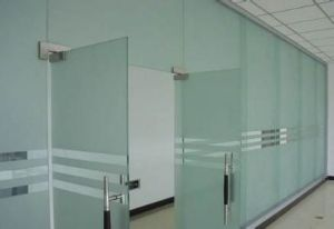 4-12mm Frosted Tempered Glass Panels pictures & photos