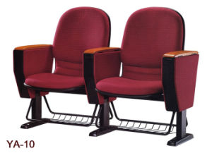 Good Quality Lecture Chair with Iron Shelf (YA-10) pictures & photos