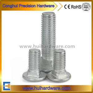 Hot-Dipped Galvanized Carriage Bolt DIN 603 pictures & photos
