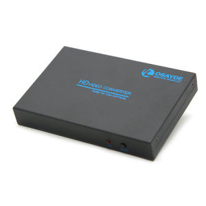 HDMI to VGA/Optical/Audio/Spdif HD Video Converter Box with Coaxial Audio Output and 3.5mm Headphone Audio Ex