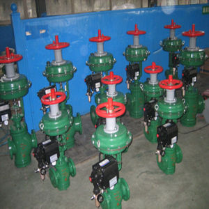 14in Globe Type Pneumatic Diaphragmsleeve Control Valve pictures & photos