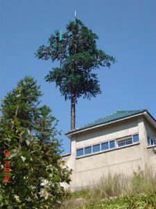 China Wholesale Artificial Pine Tree Communication Steel Tower