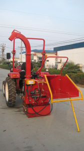 Hydraulic Wood Chipper for 25-45HP Tractors (model WC-10 with Europe certificate, shredder) pictures & photos