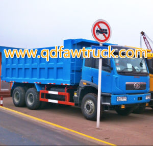 Hot Sale FAW Heavy Duty Sand Tipper pictures & photos