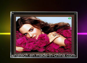 Crystal Indoor Advertising LED LGP Light Box Slim Light Box pictures & photos