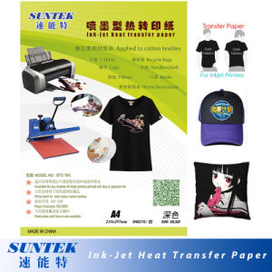 Dark Eco Solvent Heat Press Paper in Heat Transfer Paper pictures & photos