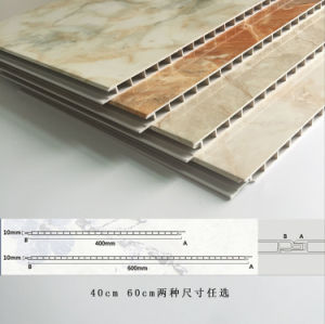 2017 New 400mm Width Laminating PVC Strong Wall Panel House Inner Decoration (RN-185) pictures & photos