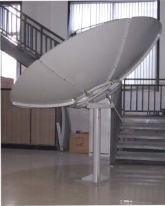 C240cm Parabolic Satellite Dish TV Antenna with Pole Mount pictures & photos