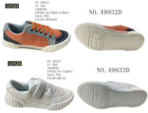 No. 49932 Big Size Kids Casual Shoes Two Styles pictures & photos