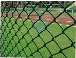 PVC Coated Safety Chain Link Mesh pictures & photos