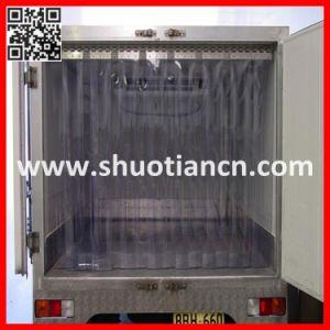 Transparent Flexible PVC Strip Door Curtain (ST-004) pictures & photos