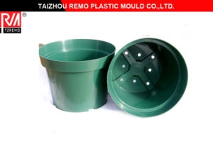 Garden Pot Mold Balcony Flowerpot Plastic Injection Mould pictures & photos