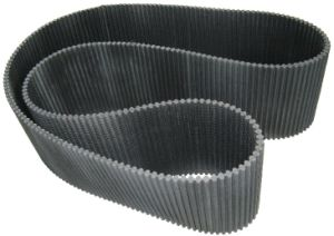Rubber Conveyor Belt Elevator Belt Timing Belt Flat Belt with Holes for Wheat Flour Milling Factory pictures & photos