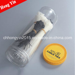 Hongyin UL Approval PA66 Self-Locking Nylon Cable Tie pictures & photos