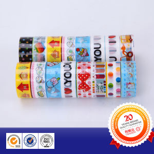 Professional Factory Sale Stationery Cartoon Adhesive Tape pictures & photos