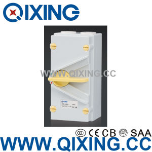 IP66 IEC 20A Waterproof Power Isolator Switch Qxf4-420 4poles pictures & photos