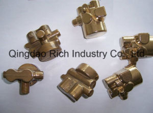 Brass Door Fitting with Polish Chromeplate Part pictures & photos