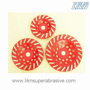Spiral Segment Metal Bond Diamond Grinding Wheel