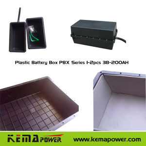 PBX Series Plastic Battery Box (1-2PCS 38-200AH) pictures & photos