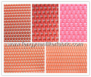 Plain Weave Flat Yarn Fabric Conveyor Belt pictures & photos