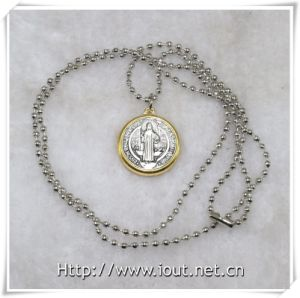Religious Necklace, Religious Items, Pendant Chain Jewelry Religious Style Necklace (IO-aj354) pictures & photos