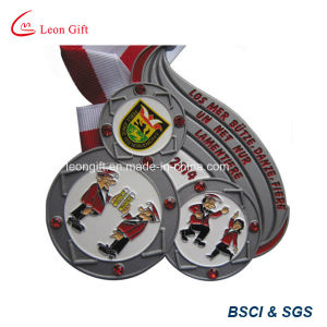 Newest Design Glitter Sport Running Medal pictures & photos
