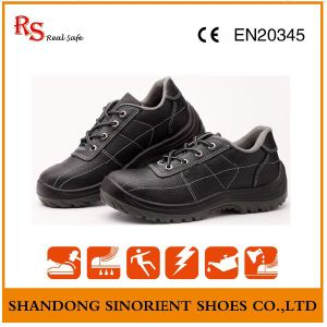 Black Steel Cheap Safety Shoes Price RS819 pictures & photos